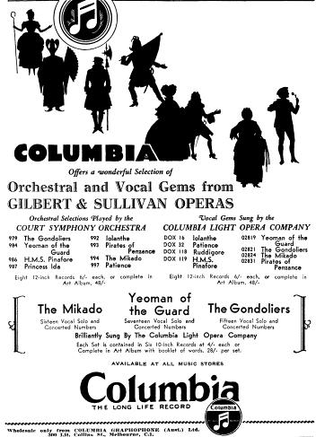 Columbia Advertisement