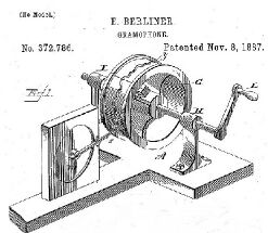 Berliner's Original Cylinder Recording Machine