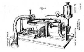 Berliner's Disc Recording Machine
