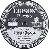 Record label for an Edison Recording